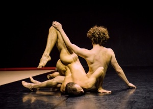 Burr Johnson and Ben Asriel by Ian Douglas