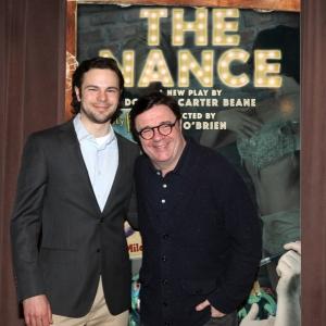 Jonny Orsini and Nathan Lane by Walter McBride