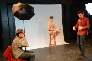 Scene from Shooting Abe