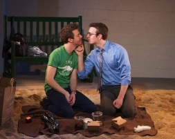 Hunter Canning as Peter and Jeff Ronan as Bobby