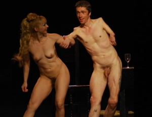 Muz and Fraser nude from previous performance