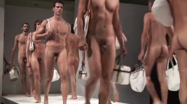 Runway Models In Madrid Fashion Show  Male Nudity In New York Stage-1069